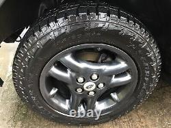 Range Rover P38 Discovery 2 Alloy Wheels And Tyres, 255 60 18