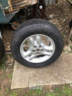 Range Rover P38 / Discovery Td5 Wheels And Tyres