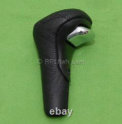 Range Rover P38 Gear Shift Knob Shifter Handle Leather Chrome Button 952002 NEW