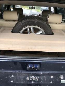 Range Rover P38 Genuine Mat Boot Liner Spare Wheel Holder 1994-2002