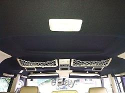 Range Rover P38, HEADLINING ROOF LINING RE-TRIMMING SERVICE