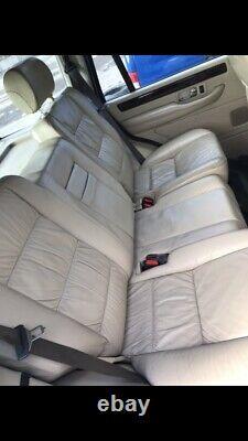 Range Rover P38 Nappa Leather Seats Cream Lightstone