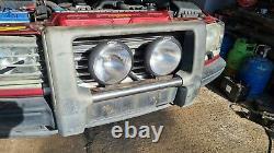 Range Rover P38 Nudge Bar, A Bar With Spot Lights