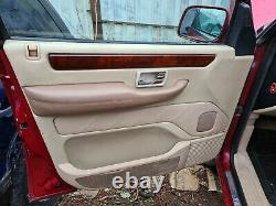 Range Rover P38 Oatmeal And Cream Electric Seats DVD Screens Door Cards