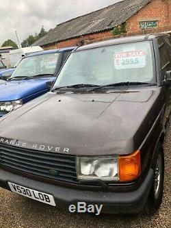 Range Rover P38 Petrol V8 Westminster, Vogue, Hse Fire Sale