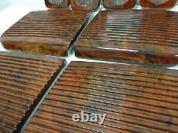 Range Rover P38 Speaker Grills Walnut