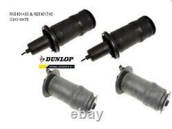 Range Rover P38 Suspension Airbag Set REB101740 (x2) & RKB101460 (x2) DUNLOP