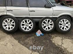 Range Rover P38 Vogue Sport 19 Alloy Wheels Tyres 255/50/19 94-02 Discovery 2