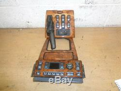 Range Rover P38 Walnut Climate Control Panel Switch Panel Center Gear Panel