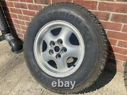 Range Rover P38 Wheels and Tyres
