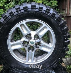 Range Rover P38 X4 Off Road wheels and tyres 245/70/16. Used Condition