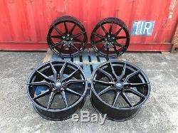 Range Rover Sport Vogue Discovery set 4 22 inch Alloy Wheels SPYDER BLACK SPORT