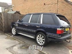 Range Rover p38 4.6 v8 petrol auto 1999 LPG 119k royal blue taxed + moted