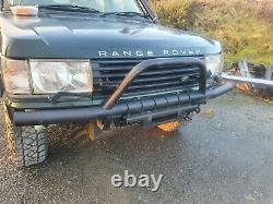 Range rover p38 bull bar winch mount