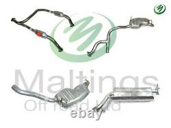 Range rover p38 exhaust system p38 V8 exhaust system complete front-rear 94-99