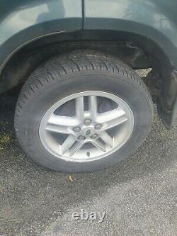 Range rover p38 hurricane wheels with good tyres