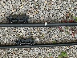 Range rover p38 roof rails & cross bars. Used