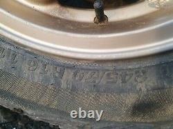 Range rover p38 wheels 2457016 tyres