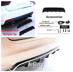 Rear Bumper Shark Fin Style Anti Scratche Body Protector Lip for 5-seat Car Suv