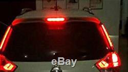 Red 14 LED 12V Car 3RD Third Brake Tail Light High Mount Stop Universal Light