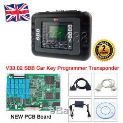 SBB V33.02 CAR AUTO KEY PROGRAMMER Locksmith Diagnostic Tool OBDII UK