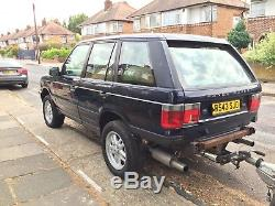 Two Range Rover P38 and Brian James Trailer (GAS, MOT)