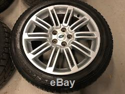 Used 20 Genuine Land Rover Discovery 4 Alloy Wheels & Pirelli Tyres