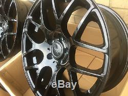 Vw Transporter T5 T6 T7 19 Inch Alloy Wheels Gloss Black Commercial Load Rated