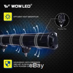 WOW 22 144W CREE LED Spot Flood Combo Offroad Driving Work Fog Lights Bar 4WD