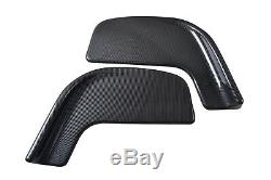 Winglet Type Front Bumper Lip Splitter Spoiler Canard- 2606 2PCS UNIVERSAL