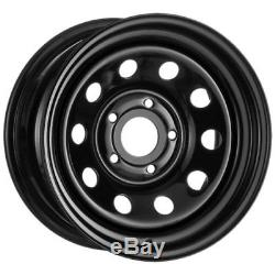 X4 235/70r16 Malatesta Kobra Tyres On 16 Black Modular Steel Wheels Disco 2