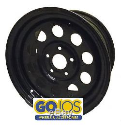 X4 245/70r16 Malatesta Kobra Tyres On 16 Black Modular Steel Wheels Disco 2